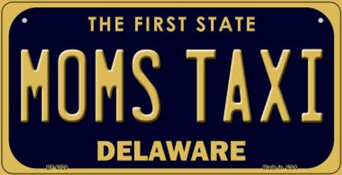 Moms Taxi Delaware Novelty Metal Bicycle Plate BP-6729