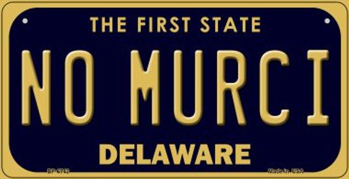 No Murci Delaware Novelty Metal Bicycle Plate BP-6742