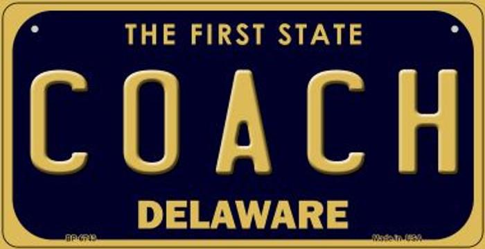 Coach Delaware Novelty Metal Bicycle Plate BP-6743