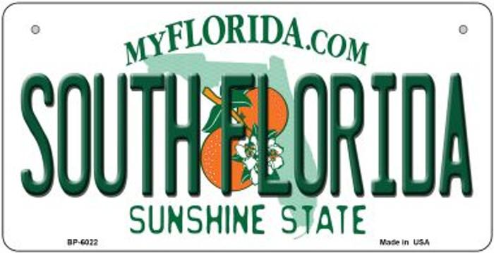 South Florida Novelty Metal Bicycle Plate BP-6022
