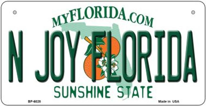 N Joy Florida Novelty Metal Bicycle Plate BP-6028