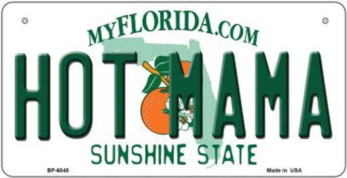 Hot Mama Florida Novelty Metal Bicycle Plate BP-6045