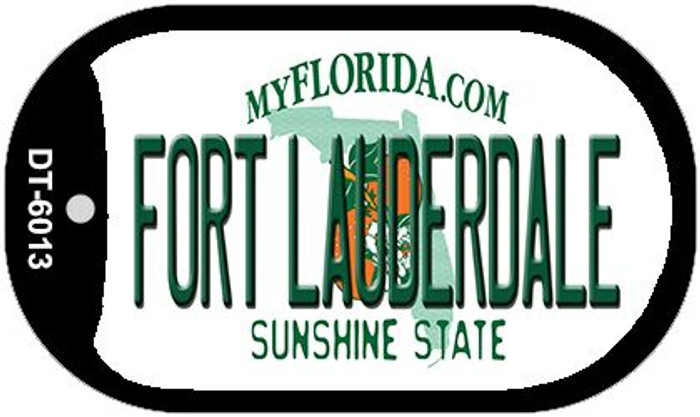 Fort Lauderdale Florida Novelty Metal Dog Tag Necklace DT-6013