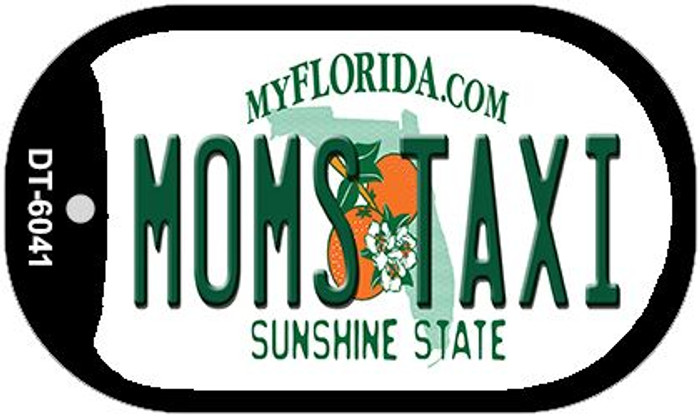 Moms Taxi Florida Novelty Metal Dog Tag Necklace DT-6041