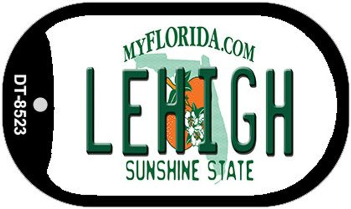 Lehigh Florida Novelty Metal Dog Tag Necklace DT-8523