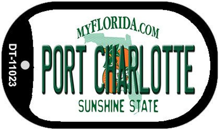 Port Charlotte Florida Novelty Metal Dog Tag Necklace DT-11023