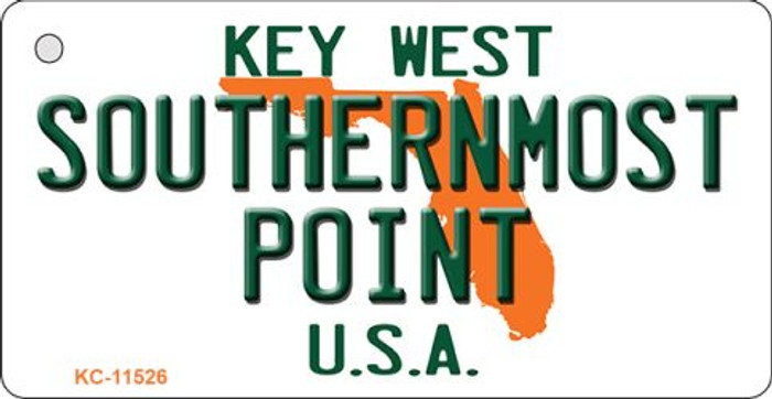Southernmost Point Florida Novelty Metal Key Chain KC-11526