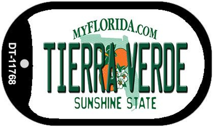 Tierra Verde Florida Novelty Metal Dog Tag Necklace DT-11768