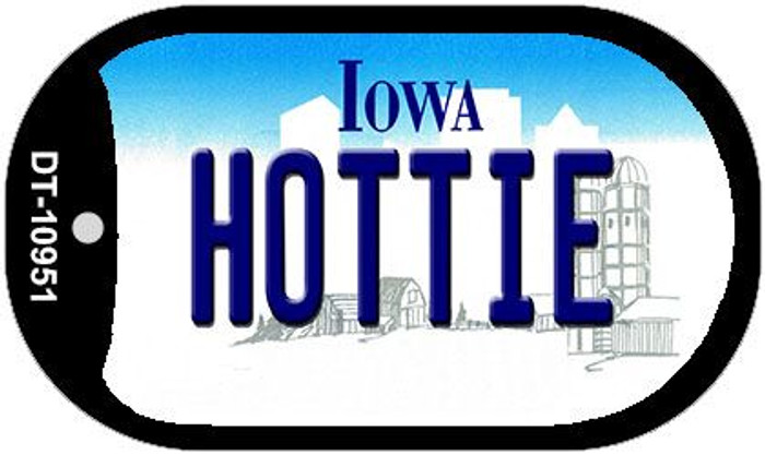 Hottie Iowa Novelty Metal Dog Tag Necklace DT-10951