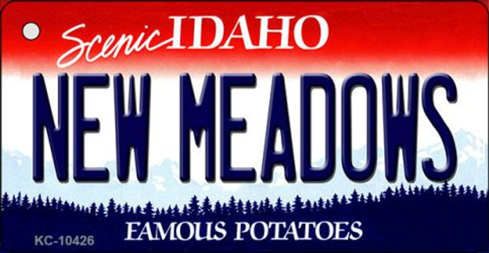 New Meadows Idaho Novelty Metal Key Chain KC-10426