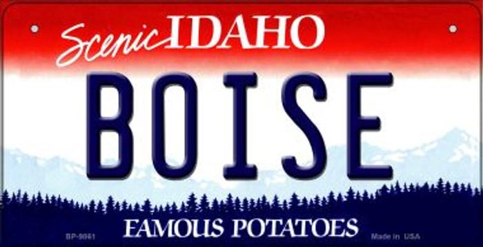 Boise Idaho Novelty Metal Bicycle Plate BP-9861