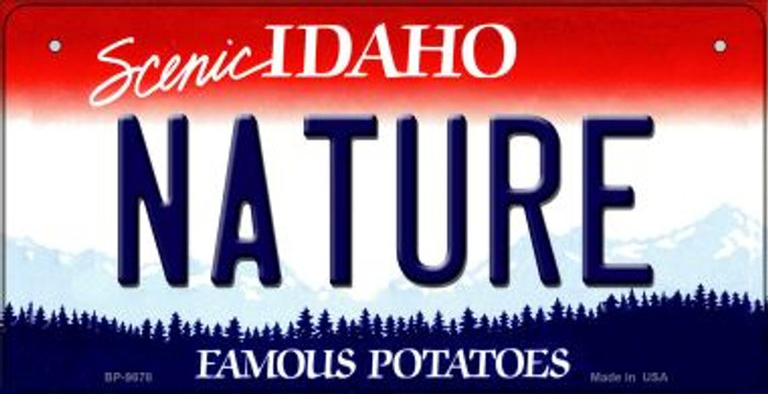 Nature Idaho Novelty Metal Bicycle Plate BP-9878