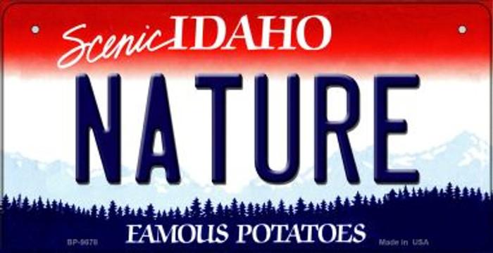 Nature Idaho Novelty Metal Bicycle Plate BP-9878