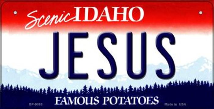 Jesus Idaho Novelty Metal Bicycle Plate BP-9885