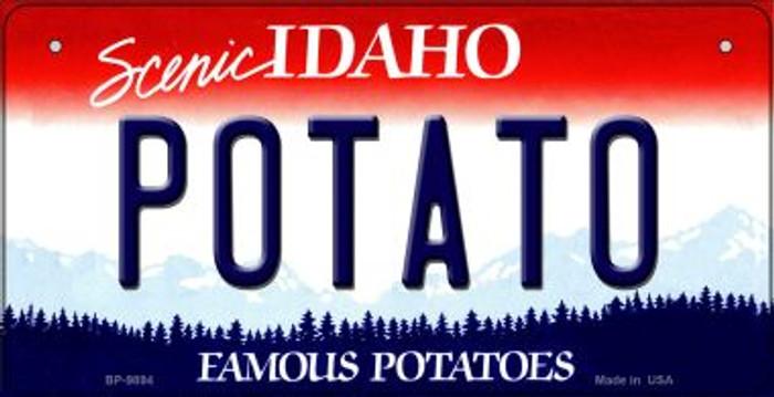 Potato Idaho Novelty Metal Bicycle Plate BP-9894