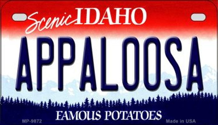 Appaloosa Idaho Novelty Metal Motorcycle Plate MP-9872