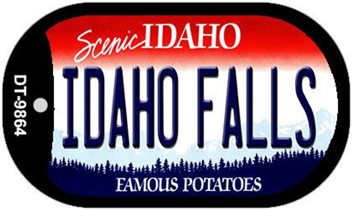 Idaho Falls Idaho Novelty Metal Dog Tag Necklace DT-9864