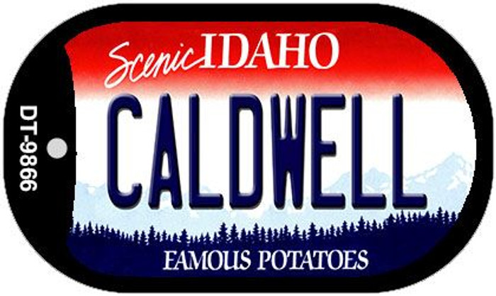 Caldwell Idaho Novelty Metal Dog Tag Necklace DT-9866