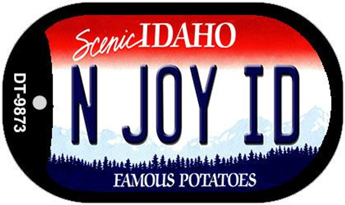 N Joy ID Idaho Novelty Metal Dog Tag Necklace DT-9873