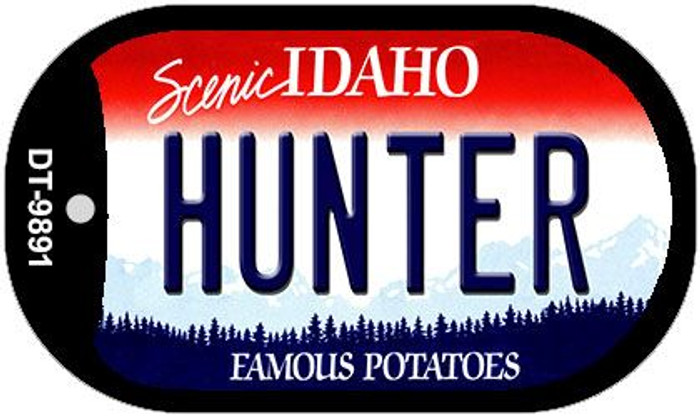 Hunter Idaho Novelty Metal Dog Tag Necklace DT-9891