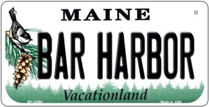 Bar Harbor Maine Novelty Metal Bicycle Plate BP-10390
