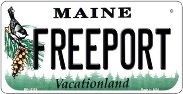 Freeport Maine Novelty Metal Bicycle Plate BP-10393