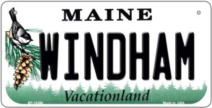 Windham Maine Novelty Metal Bicycle Plate BP-10396