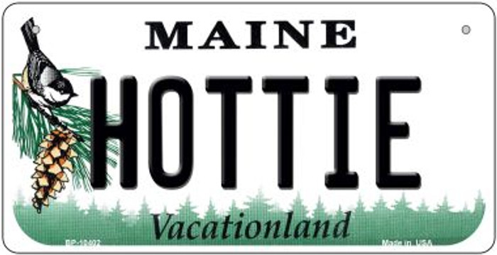 Hottie Maine Novelty Metal Bicycle Plate BP-10402