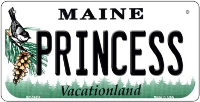 Princess Maine Novelty Metal Bicycle Plate BP-10414