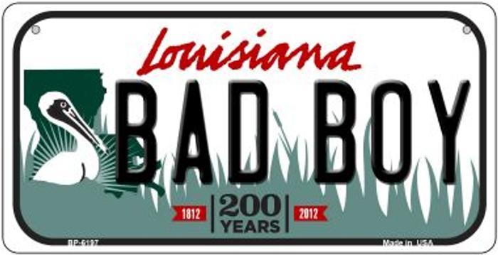 Bad Boy Louisiana Novelty Metal Bicycle Plate BP-6197
