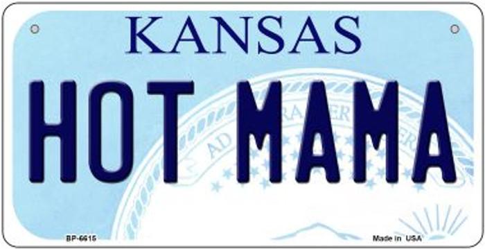 Hot Mama Kansas Novelty Metal Bicycle Plate BP-6615