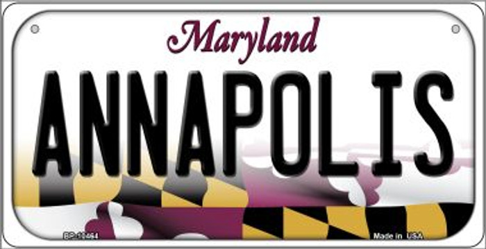 Annapolis Maryland Novelty Metal Bicycle Plate BP-10464