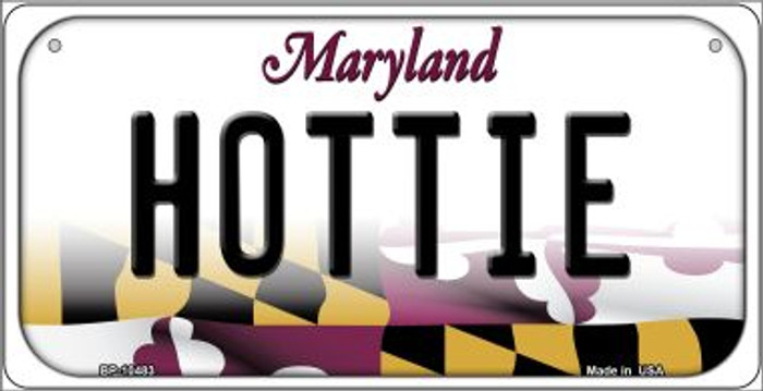 Hottie Maryland Novelty Metal Bicycle Plate BP-10483