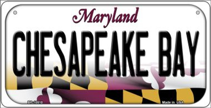 Chesapeake Bay Maryland Novelty Metal Bicycle Plate BP-10510