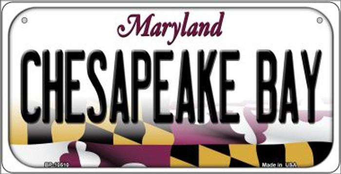 Chesapeake Bay Maryland Novelty Metal Bicycle Plate BP-10510