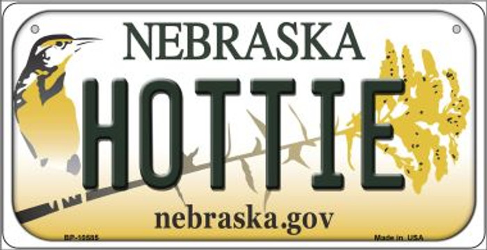 Hottie Nebraska Novelty Metal Bicycle Plate BP-10585