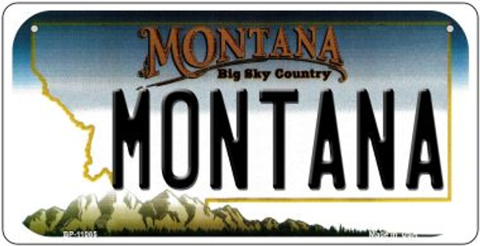 Montana Novelty Metal Bicycle Plate BP-11085