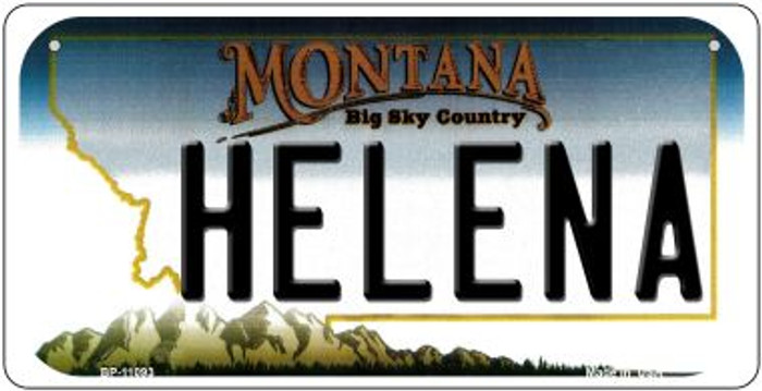 Helena Montana Novelty Metal Bicycle Plate BP-11093