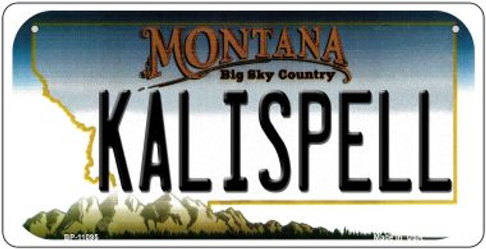 Kalispell Montana Novelty Metal Bicycle Plate BP-11095
