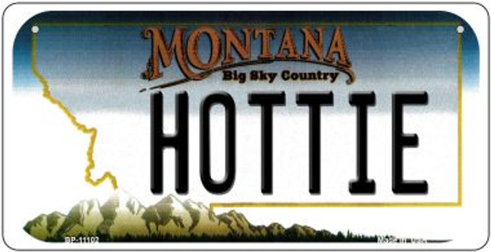 Hottie Montana Novelty Metal Bicycle Plate BP-11102