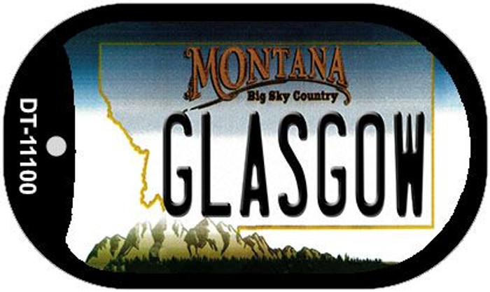 Glasgow Montana Novelty Metal Dog Tag Necklace DT-11100