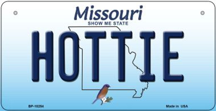 Hottie Missouri Novelty Metal Bicycle Plate BP-10254