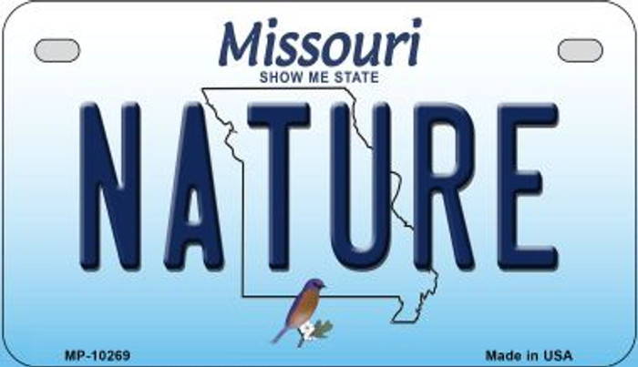 Nature Missouri Novelty Metal Motorcycle Plate MP-10269