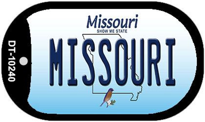 Missouri Novelty Metal Dog Tag Necklace DT-10240