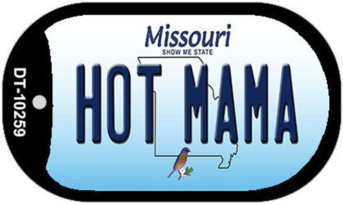 Hot Mama Missouri Novelty Metal Dog Tag Necklace DT-10259