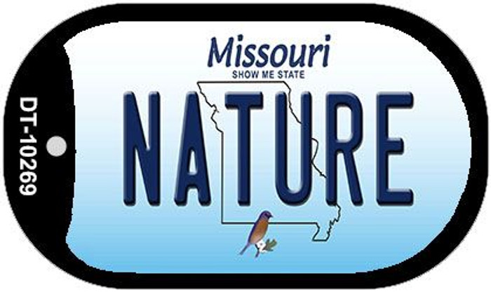 Nature Missouri Novelty Metal Dog Tag Necklace DT-10269