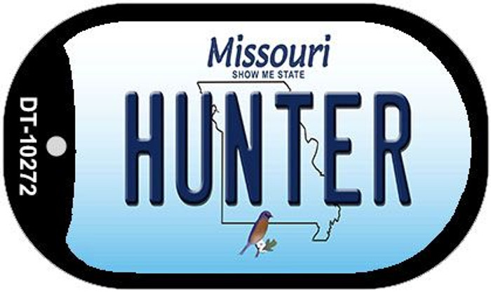 Hunter Missouri Novelty Metal Dog Tag Necklace DT-10272