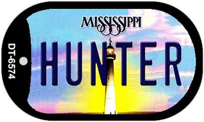 Hunter Mississippi Novelty Metal Dog Tag Necklace DT-6574