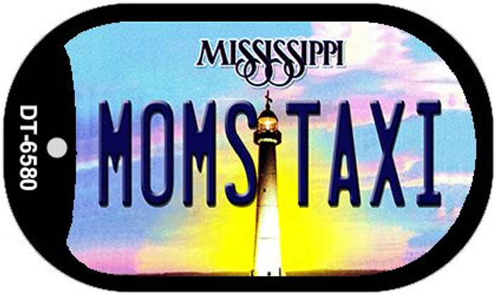 Moms Taxi Mississippi Novelty Metal Dog Tag Necklace DT-6580