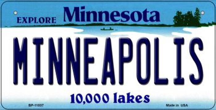 Minneapolis Minnesota Novelty Metal Bicycle Plate BP-11037